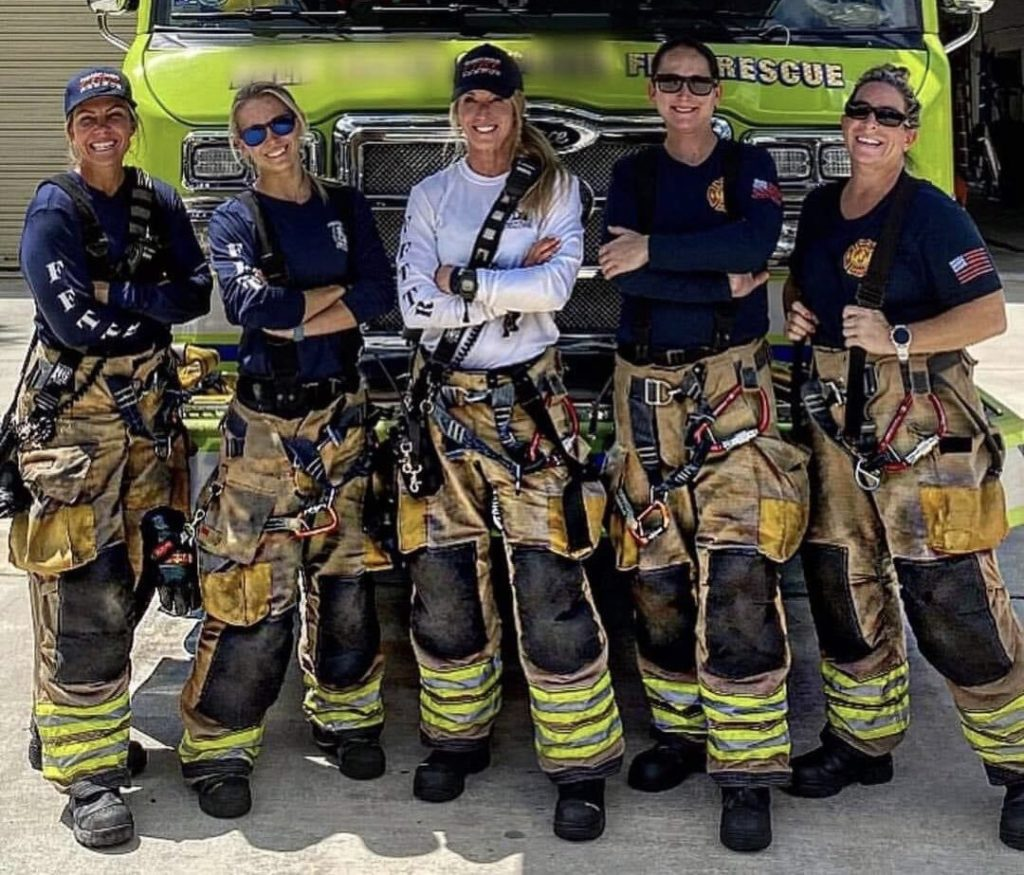 Palm Beach Gardens Female Firefighters